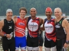 Happy triathletes just before the race