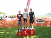 On the podium at Luray International