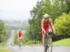 Cresting the hill during Luray Sprint