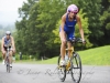 Katie Davison crushing the bike at Luray Sprint
