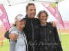 Dave Scott with Christine Bell and another athlete