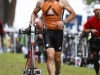 Flying through Luray Sprint Triathlon transition
