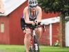 Cruising on the bike at Luray Sprint