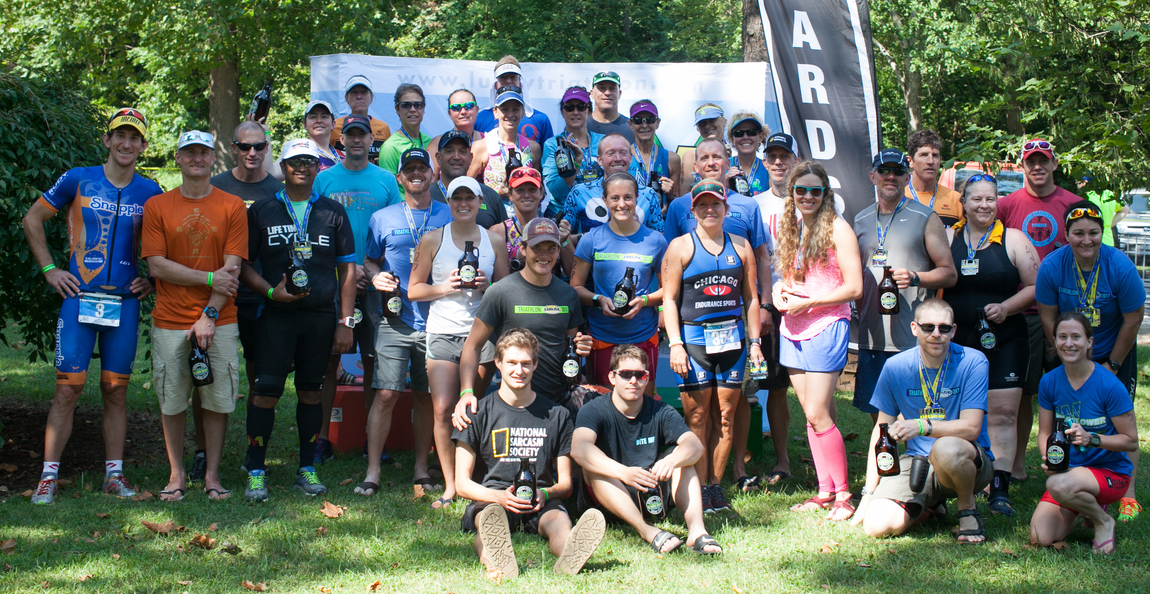 Luray Triathlon 2017 Hawksbill Double Award Winners