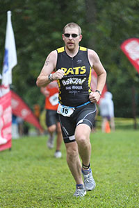 RATS finisher at Luray Triathlon