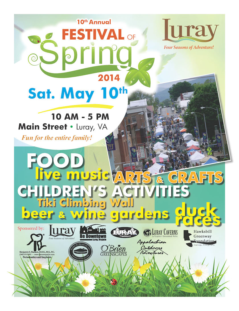 Town of Luray Festival of Spring 2014