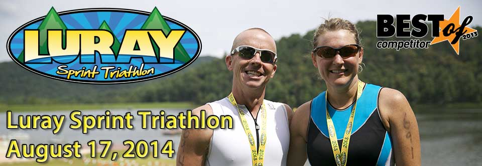 David and Heather Sours Luray Sprint Triathlon