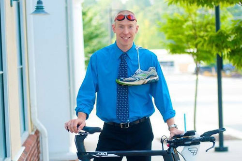 Steve Rosinski pro triathlete and optometrist