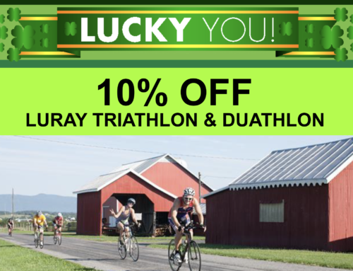 10% Off Luray Triathlon & Duathlon