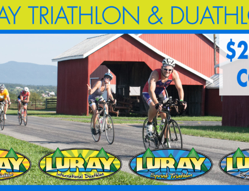 $20 OFF Luray Triathlon & Duathlon